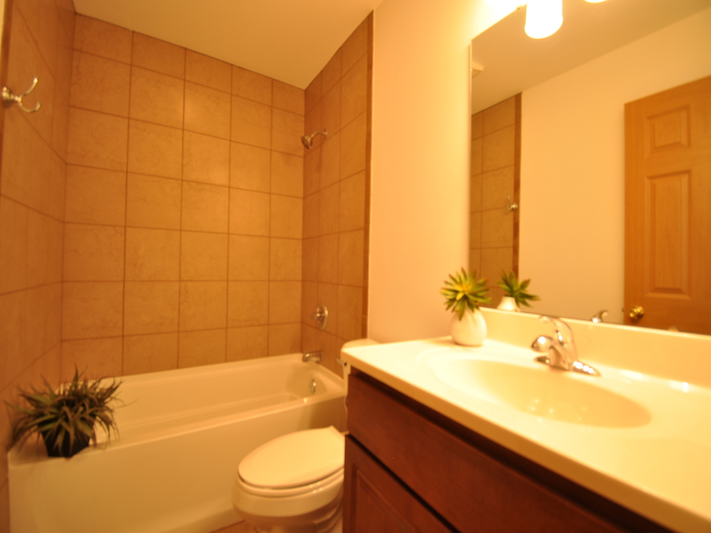 1100 Ashland 4 bedroom house for rent in muncie near ball state bathroom photo