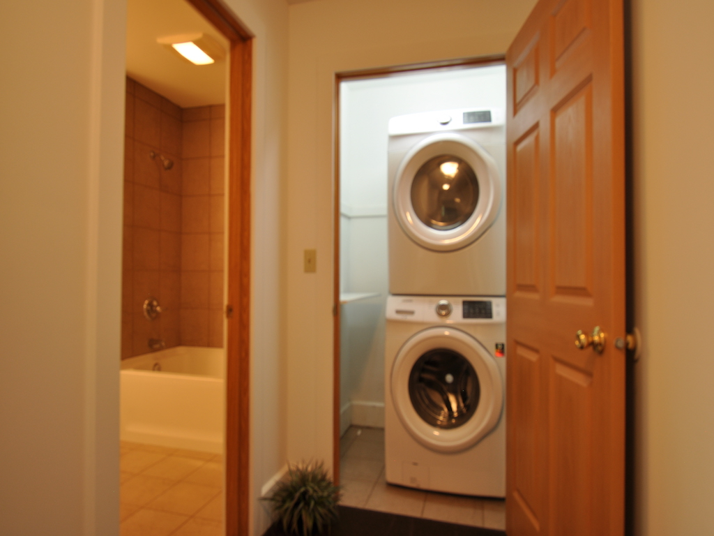 1100 Ashland 4 bedroom BSU rental home in Muncie laundry room