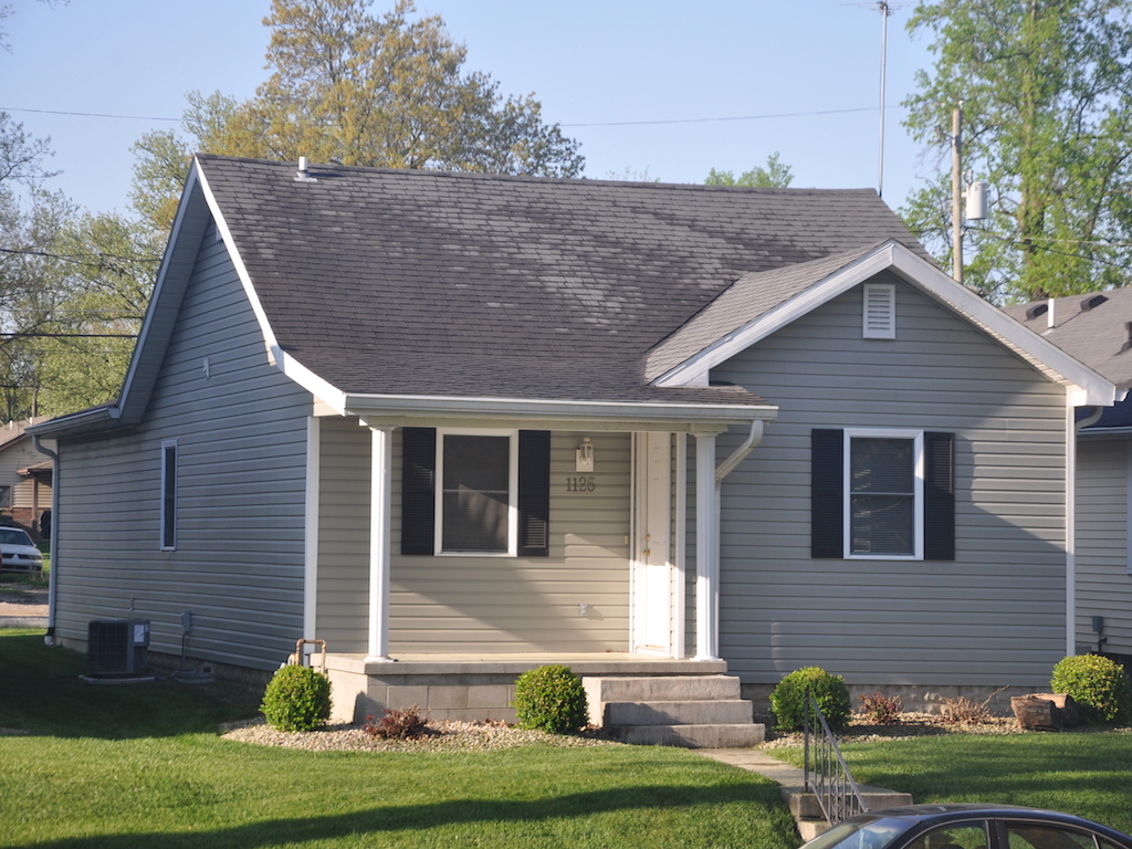 1125 abbott 4 bedroom ball state house for rent in muncie for rent exterior photo