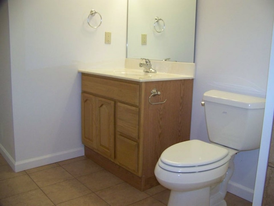 102 McKinley 3 bedroom Ball State off-campus house for rent in muncie bathroom