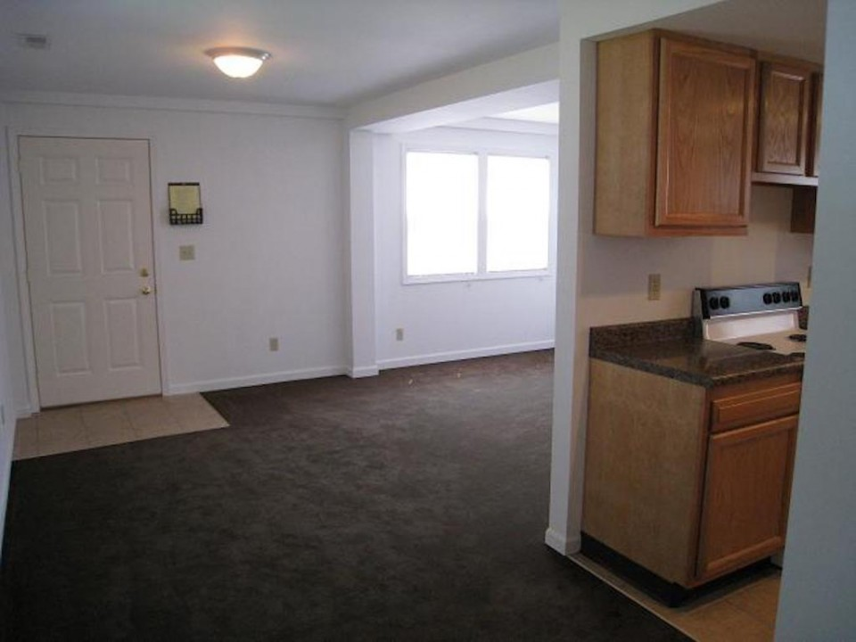 1111 Locust 2 bedroom BSU house for rent in muncie living room photo
