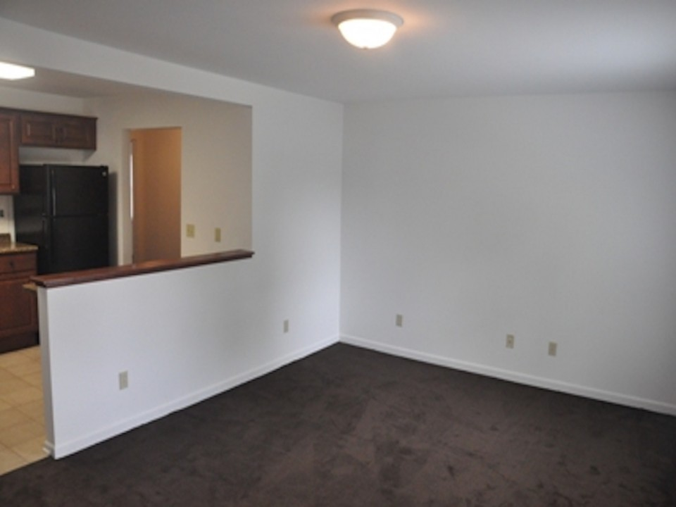 1113 Abbott 3 bedroom BSU house for rent in muncie living room photo