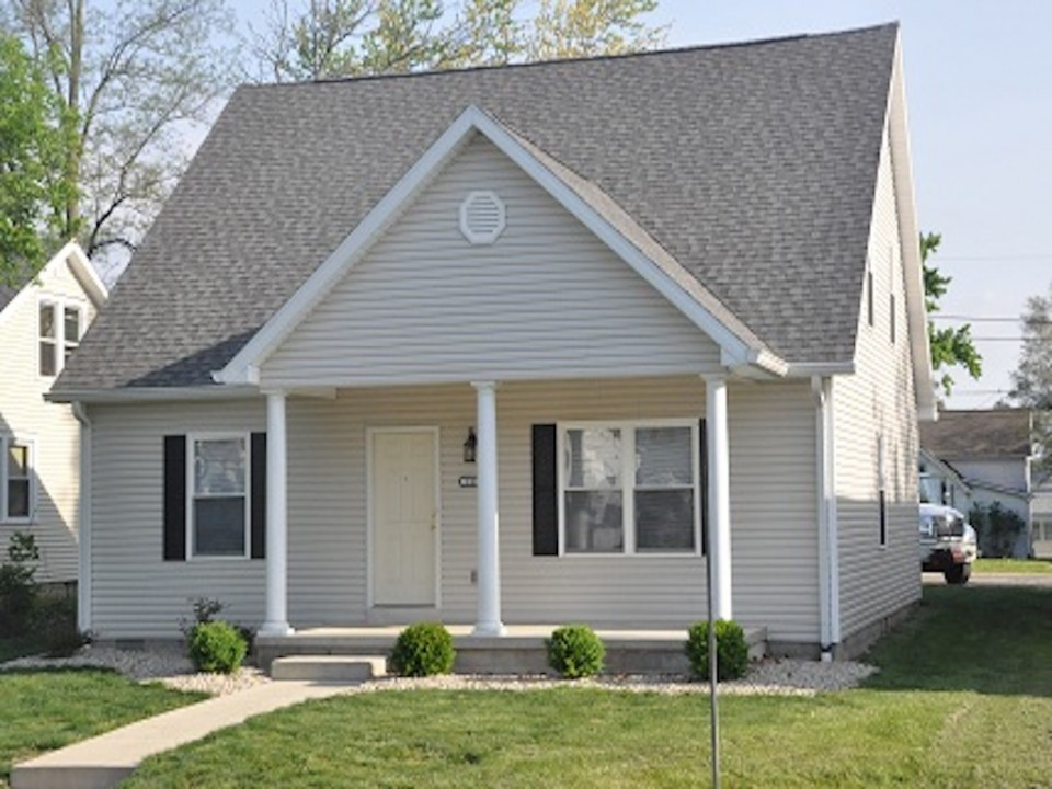 1116 Rex 5 bedroom Ball State house for rent in muncie exterior photo