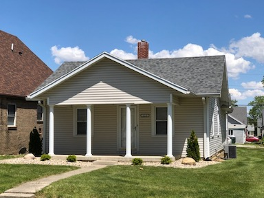 1116 Marsh 4 bedroom Ball State house for rent in muncie exterior photo