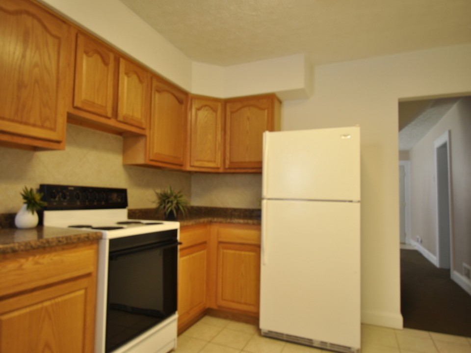 1216 Abbott 4 bedroom ball state rental kitchen photo