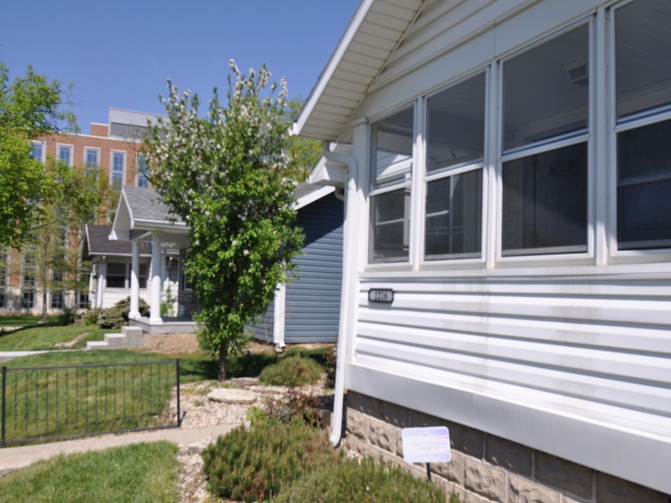 1216 Carson 3 bedroom BSU house for rent in muncie exterior photo